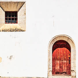 Sintra Window and Door - Portugal by Stuart Litoff