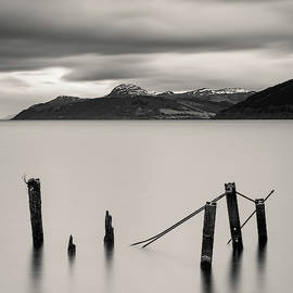 Six Posts in Loch Ness by Dave Bowman