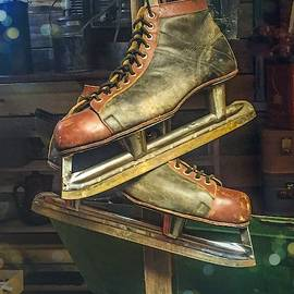 Skates in the Shed by Sage Photography
