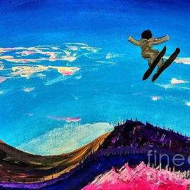 Escudra Art - Ski Sandy Ski
