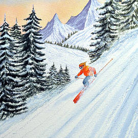Bill Holkham - Skiing - The Clear Lady Leader
