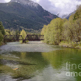 Skykomish River Spring by Idaho Scenic Images Linda Lantzy
