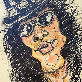 SLASH From Guns n Roses by Geraldine Myszenski
