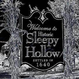 Sleepy Hollow Sign by Tru Waters