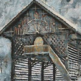 Dragica Micki Fortuna - Slovenian Hayrack in Winter