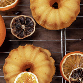 Small orange bundt cakes by Elena Seychelles