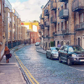 small street of Dublin by Ariadna De Raadt