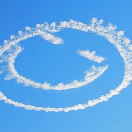 Smiley Face Blue Sky by Amyn Nasser