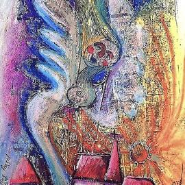 Smiling Angel by Christiane Behrmann