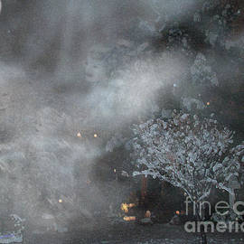 Snow Angels in the fog by Bonnie Marie