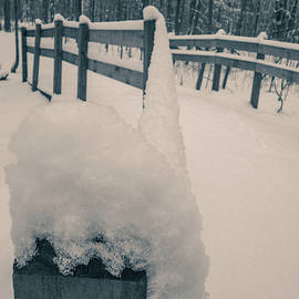 Snow Covered Bridge by Dan Sproul