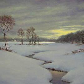 Snow Fields by Barry DeBaun