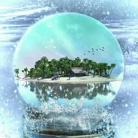 Kelley Freel-Ebner - Snow Globe Island