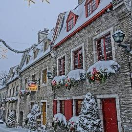 Quebec City's Winter Wonderland by Patricia Caron