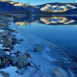 Tara Turner - Snowy Mountains Along the Similkameen River