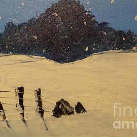 Snowy Scene by Kathy Carlson