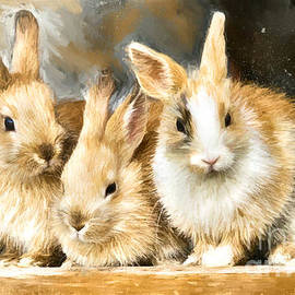 Snuggle Bunnies by Tina LeCour