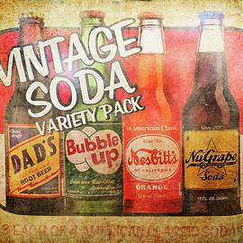 Soda Pop Sign by Jill Love