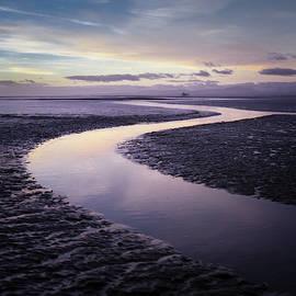 Solway Firth Dawn by Dave Bowman