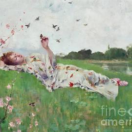 Songbirds  by Albert-Emile Artigue