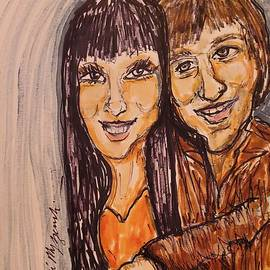 Sonny And Cher I Got You Babe by Geraldine Myszenski