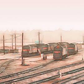 South Portland Trains by Bob Orsillo