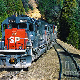 Southern Pacific SD45-T2 by John Cockrell