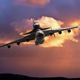 Soviet Union An-225 with Buran Space Shuttle by Erik Simonsen