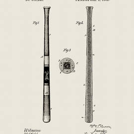 Spalding Baseball Bat by Dan Sproul