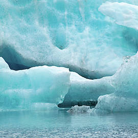 Spencer Glacier 1 by Steven Richman
