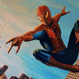 Spiderman 3 Painting  by Paul Meijering