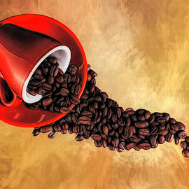 Spill The Coffee Beans by Judy Vincent