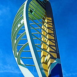 Spinnaker Tower Top by Loretta S