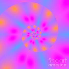 Spiral Glow by Rachel Hannah