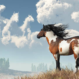 Spirits Of Mustangs Past by Daniel Eskridge