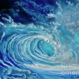 Splashing Waves by Jenny Lee