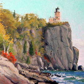 Split Rock Lighthouse by Rick Hansen