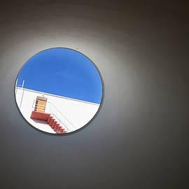 Split View. Amos Rex sky window by Jouko Lehto