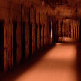 Spooky Old Prison Cells by Paul W Faust - Impressions of Light