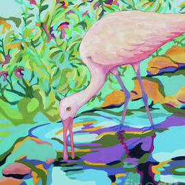 Spoonbill FRANCISCO by Sharon Nelson-Bianco