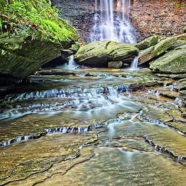Spring At Blue Hen Falls by Marcia Colelli
