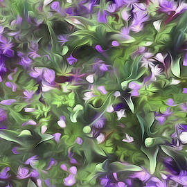 Spring Flowers by Claudia O'Brien