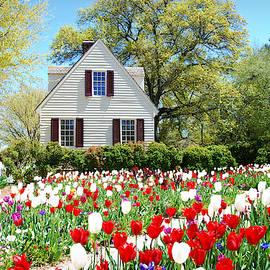 Spring has Sprung in Colonial Williamsburg, Virginia by Marilyn DeBlock