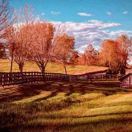 Spring House Shadows by Jim Love