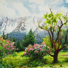 Spring in the Wallowas by Steve Henderson
