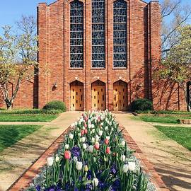 Spring Is Here At The Chapel Of Memories by Parker Cunningham