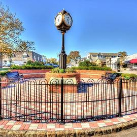 Spring Lake New Jersey Town center by Geraldine Scull