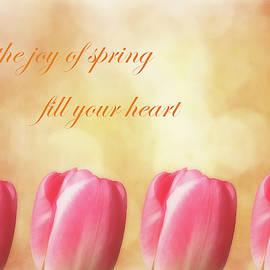 Spring Tulips For Joy by Johanna Hurmerinta
