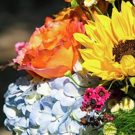 Springtime Bouquet Vertical by Mary Ann Artz