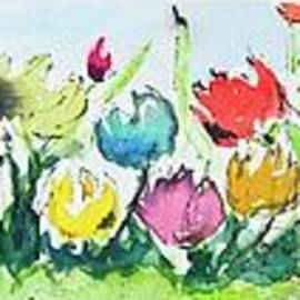 Springtime Tulips by Wendy Ray